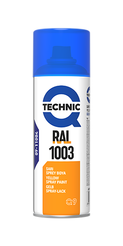 RAL 1003 Yellow Spray Paint