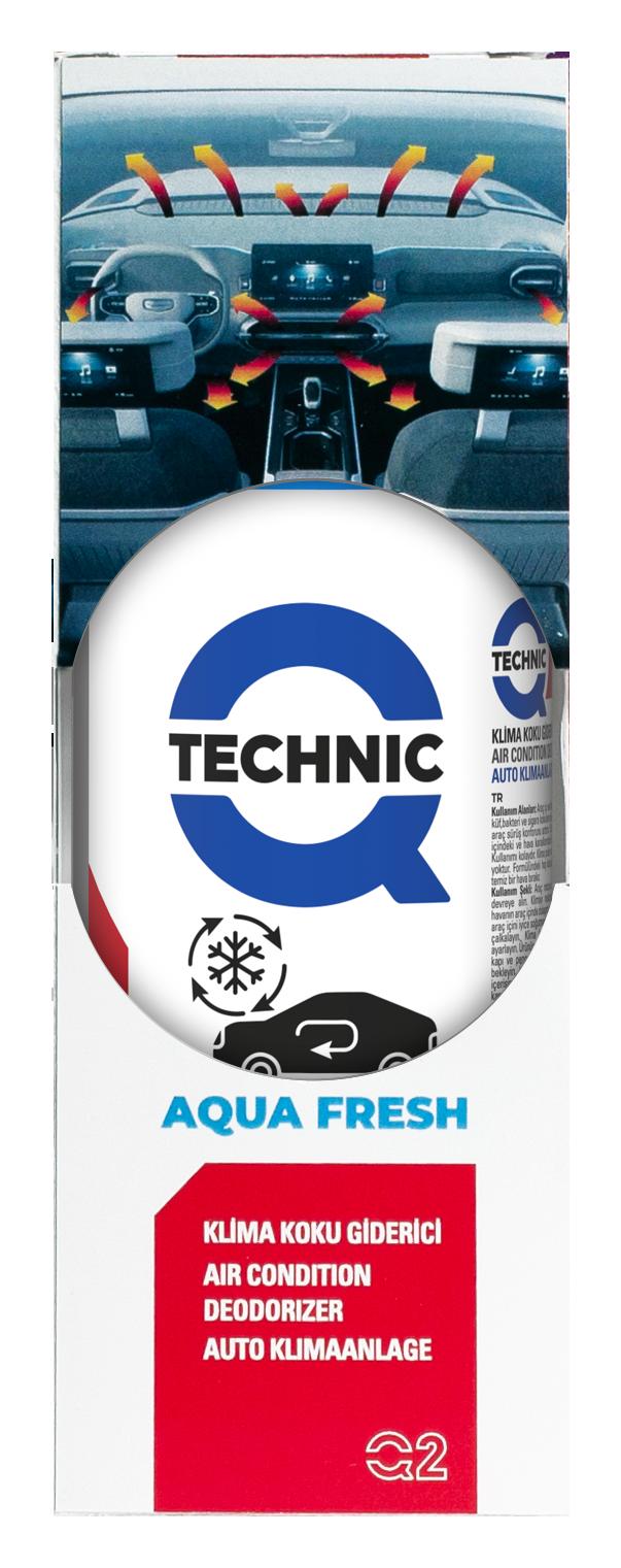 Arac Ici Ve Klima Koku Giderici Sprey Aqua Fresh Kozmetik Urunler Q Technic